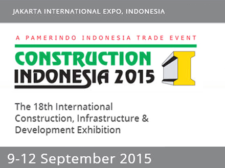 HỘI CHỢ XÂY DỰNG CONSTRUCTION INDONESIA 2015